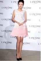 专柜现货 2012新款Valentino包小柏薄荷绿/粉色真丝连衣裙 价格:1852.80