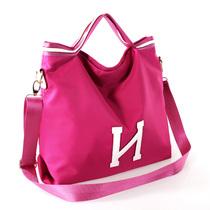 秋冬韩版女包手提包女士包包2013新款潮休闲大包包尼龙布包斜跨包 价格:99.00