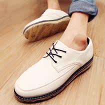 林弯弯潮鞋秋季男士休闲鞋韩版潮流英伦男鞋子板鞋大头鞋增高皮鞋 价格:68.00