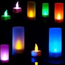 好玩点 七彩声控蜡烛灯 一吹就亮一吹就灭 电子蜡烛灯 生日蜡烛 价格:2.40