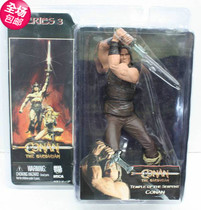 正版 NECA 野蛮人柯南 施瓦辛格 Conan Temple of the Serpent 价格:65.00