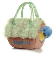 Aurora Plush Blue Bird in Birdhouse FancyPals  极光的蓝色鸟 价格:235.88