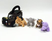 Aurora Plush Baby 6 My Photo Safari Carrier with Sound  婴 价格:343.88
