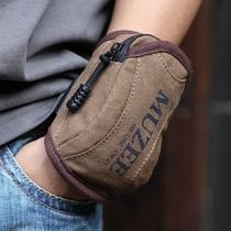 牧之逸新款 手腕包苹果手机包小包 男女跑步包帆布包男包手包运动 价格:55.00