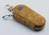 包邮斯巴鲁傲虎 XV 森林人翼豹力狮驰鹏进口油腊皮男士真皮钥匙包 价格:68.00