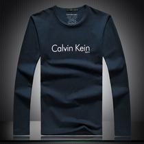 2013新款CalvinKlein专柜正品ck男装长袖T恤 简约纯色圆领打底衫 价格:109.00