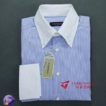 美国代购CANALI卡纳利男士时尚休闲商务高端奢华意大利产长袖衬衫 价格:1287.00