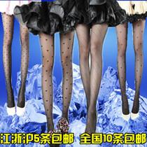超薄款提花丝袜黑白色连裤袜女防勾丝打底袜子日系纹身袜厂家批发 价格:0.99