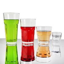 经典透明玻璃直布罗陀杯子 水杯茶具 酒吧KTV威士忌杯 烈酒杯 价格:1.52