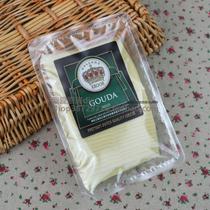 荷兰进口皇冠高达天然奶酪片250g芝士干酪片cheese 早餐首选 价格:25.00