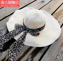加厚 韩版大沿帽 遮阳太阳帽子 大檐沙滩帽 女 海边度假草帽 夏天 价格:39.00