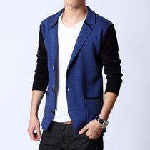 2013杰克代购琼斯秋装专柜男士针织小西服 卡宾韩版修身西装外套 价格:128.00
