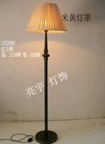 欧式简约铁艺美式客厅摆设卧室书房沙发转角调光/脚踏落地灯包邮 价格:168.00