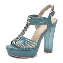 迪仑迪斯2013夏季新品 欧洲站防水台高跟鱼嘴鞋女凉鞋潮 正品特价 价格:119.00