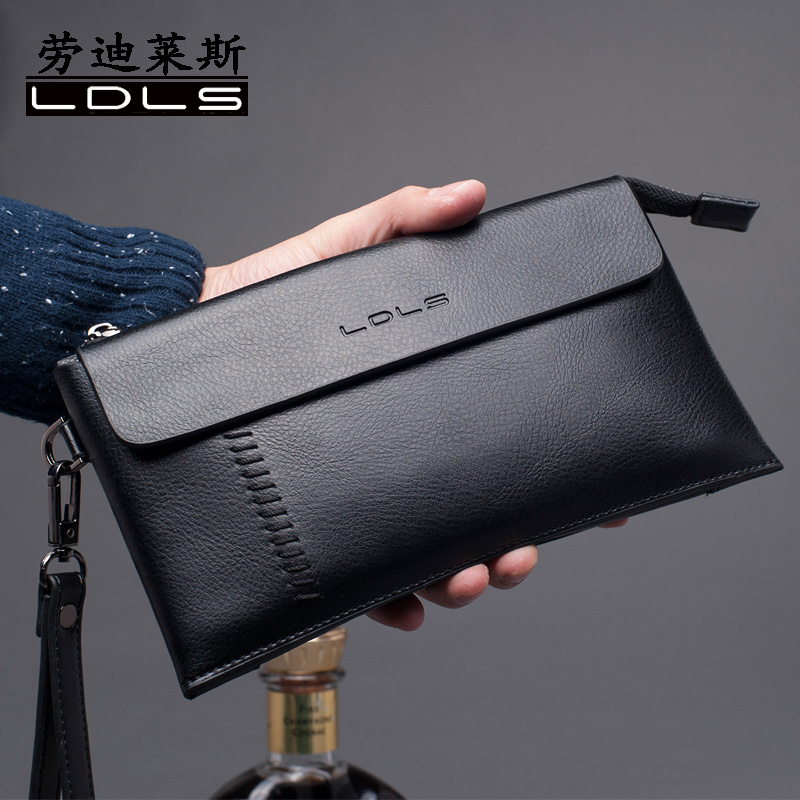 男士手包软皮 欧美时尚手抓包牛皮正品手拿包商务休闲小手包男包 价格:148.00