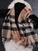 回馈 绒温暖厚装羊羔绒格子 羊绒清纯芭芭款 经典披肩/围巾 价格:228.00
