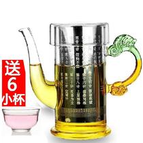 茶壶泡茶器玻璃红茶茶具套装飘逸杯不锈钢内胆冲茶器铸铁壶特价 价格:29.90