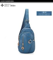 2013新款PU皮质男女士韩版腰包胸包男女包休闲包斜挎包时尚小包 价格:57.00