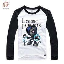 木禾图腾英雄联盟LOL 阿木木 莱卡棉长袖T恤衣服  有胖子加肥大码 价格:69.30