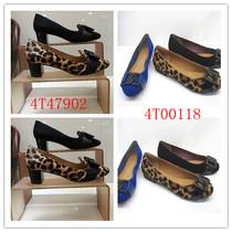 正品代购 2013新款 莱尔斯丹 4T47902 4T00118 豹纹中跟女单鞋 价格:220.00