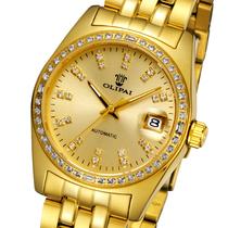 瑞士欧力派手表全自动机械表 正品男表镶钻金表 防水机械手表男士 价格:1580.00