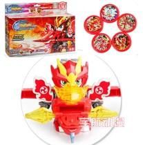 正品 激战奇轮玩具 超级连射机器人 烈焰骑轮武装 儿童拼装射击 价格:21.00