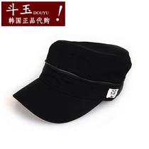 韩国帽子非代购平顶帽军帽进口正品户外男士女士李多海TNC韩版潮 价格:94.00