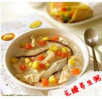 高纤宝五谷杂粮香菇木耳鸡肉无糖养生粥480g 速食食品早餐方便粥 价格:26.00