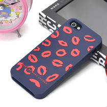 MARC BY MARC JACOBS iphone5 手机壳 红唇 爱心硅胶套 保护壳 价格:19.00