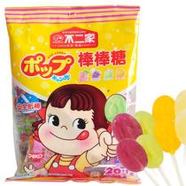 不二家棒棒糖 袋装 水果糖 硬糖 糖果 混合水果味 可爱健康 礼物 价格:9.50