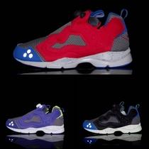 专柜正品 锐步/reebok pump 反光潮流复古跑鞋 J92227 J96715/6 价格:349.00