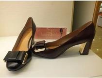 专柜正品千百度2013秋款蝴蝶结女单鞋A3414302A01 A3414302A06 价格:228.00