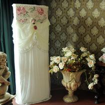 正品猛士美居 米诺娃柜机空调罩立柜式防尘套欧式布艺蕾丝田园 价格:236.80