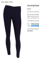 牛货 出口澳洲功能性收腹打底裤。秋冬正品提臀显瘦弹力裤长裤 女 价格:49.90