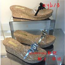 专柜正品代购Staccato/思加图2013年夏款女凉拖鞋EYB13 YB13包邮 价格:219.00