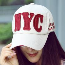 帽子女夏天韩版潮BAT字母棒球帽 女NYC户外秋冬运动遮阳鸭舌帽男 价格:9.90