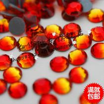 奥钻施华洛世奇元素批发/烫钻237火焰红/14切面/服装烫图专用钻 价格:17.50