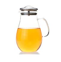 彩立方 1900ml超大容量凉水壶 冷水壶 开水壶 耐热玻璃茶壶 包邮 价格:48.00
