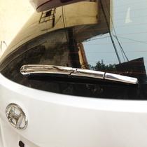 北京现代全新胜达ix45专用后雨刮改装饰亮条 ABS电镀 欧泰正品 价格:65.00