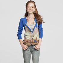 天使之城 新品秋装外套 针织衫女款开衫 长袖修身甜美 62130241 价格:209.00