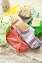 夏日里的小清新。 女袜 棉袜 隐形船袜 袜子 多色入 价格:3.96