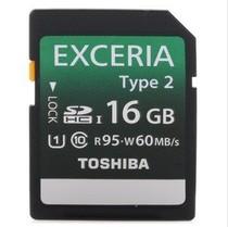 东芝SD卡16G相机内存卡EXCERIA Type2型UHS/C10读95M写60M 极速卡 价格:88.00