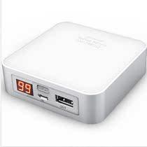 百酷(PECUBE) MP7800 移动电源 7800毫安 白色 金属时尚 价格:249.00