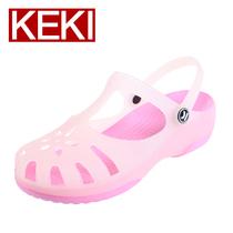 洞洞鞋 夏季正品2013新款女变色玛丽珍二代沙滩花园果冻平跟凉鞋 价格:259.00