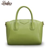 莉迪斯2013女包新款欧美糖果色笑脸包手提单肩斜跨包 女真皮包包 价格:169.00