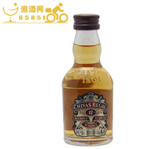 【洋酒】正品行货 芝华士12年威士忌酒伴 50ml ChivasRegal 价格:25.00