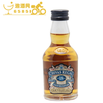 【洋酒】正品行货 芝华士18年威士忌酒伴 50ml ChivasRegal 价格:48.00