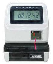 印时钟能达佳 AP-10 印时钟 停车场打卡钟 停车场用的考勤机 价格:1250.00