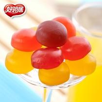 好邻居橡皮糖 Q�qq软糖水果糖婚庆满月喜糖批发糖果零食散装500g 价格:19.80