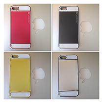 奇域纬诚特价折扣iPhone5手机壳苹果5金属手机外壳潮流撞色保护套 价格:236.00